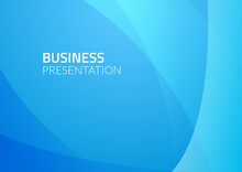 Abstract Business Vector Background. Blue Graphic Design Illustration. Business Wallpaper Pattern