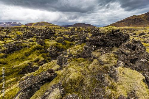 Photo Berserkjahraun lava field in Snaefellsnes peninsula, Iceland