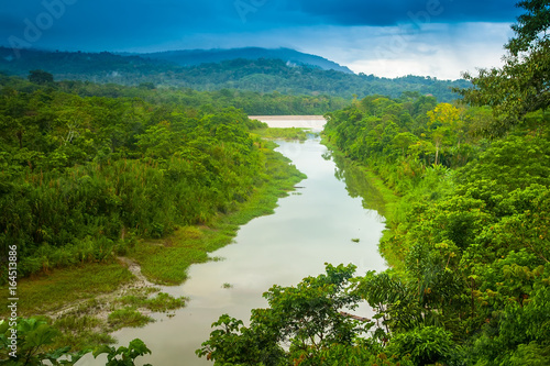 Photo Amazon River. Flow k recke Amazon.