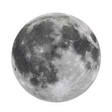 Full Moon Isolated  (Elements ...