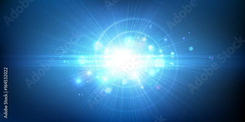 Fotografie, Obraz  Light effect, glowing flare