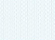 Blue Vector Isometric Grid Gra...