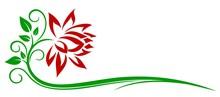 Red Flower Logo.