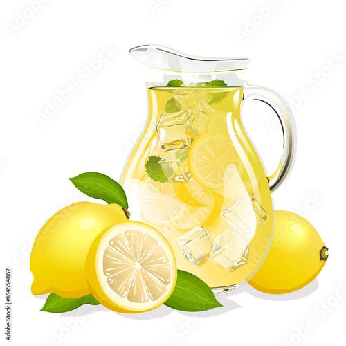 Fotografia, Obraz jug of lemonade
