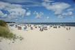 Strand in Ahlbeck auf Usedom