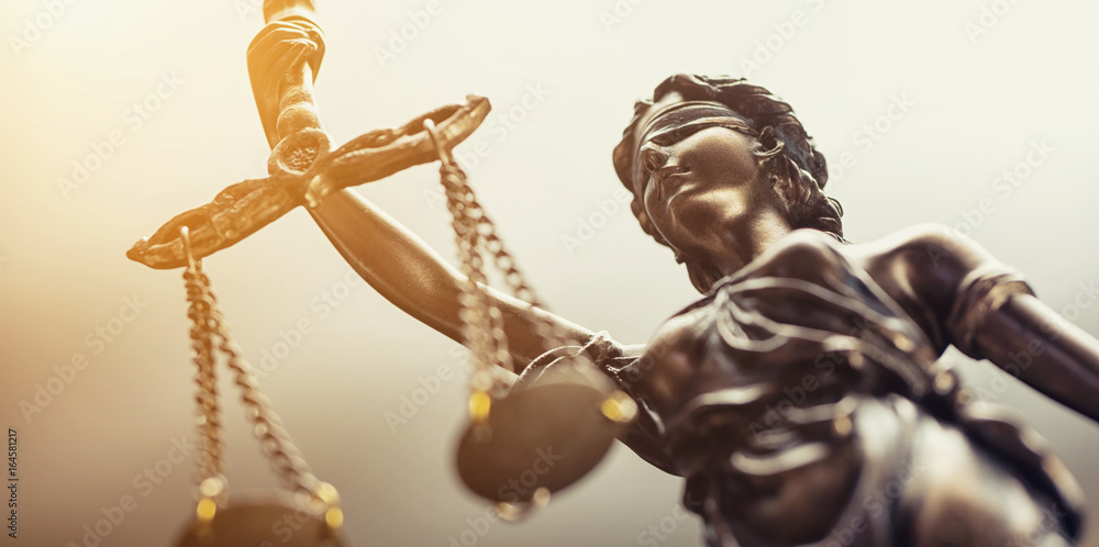 Fototapety, obrazy: Statue of justice