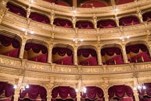Interior Of Hungarian Opera In...