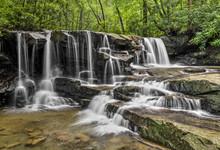 Upper Jonathan Run Falls - Ohi...