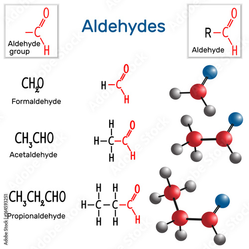 Aldehydes Canvas Print