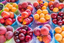 Closeup Of Many Summer Fruit I...