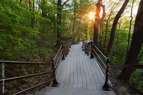 drewniany-most-na-wzgorzu-mont-royal-o-wschodzie-slonca