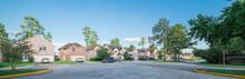 Suburban Residential Area, Row...