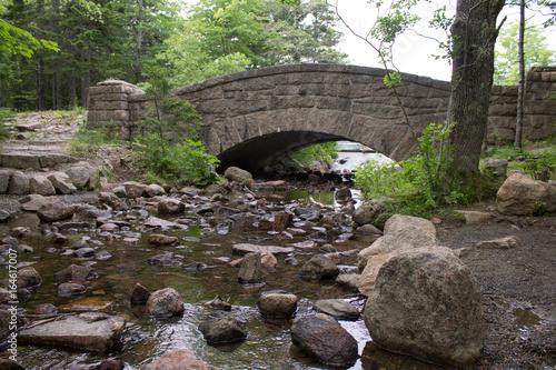 Fotografie, Obraz  Carriage Road Bridge in Acadia National Park, Maine