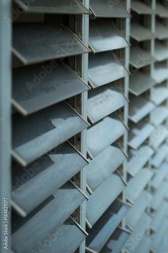 Türaufkleber Metall windowpane