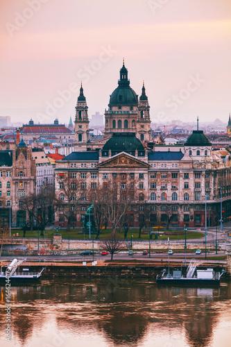 Foto  St Stephen (St Istvan) Basilica in Budapest