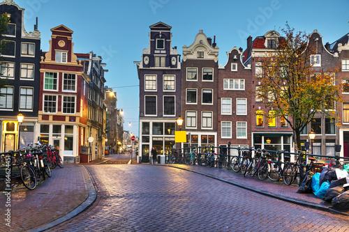 Canvas Prints Amsterdam Amsterdam city view