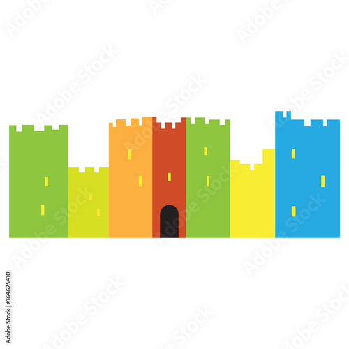 isolated-castle-toy-on-a-white