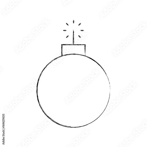 Fotografija  explosive boom isolated icon vector illustration design