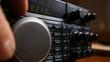 Tuning in a signal on a shortwave ham radio