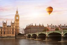 Hot Air Balloon In London, Bea...