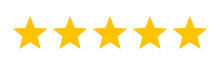 Five Stars Customer Product Ra...