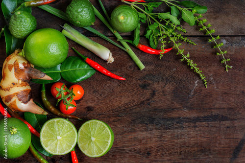 Herb and spicy ingredients for making thai food recipe book with herb and spicy ingredients for making thai food recipe book with fresh herbs south asia forumfinder Choice Image