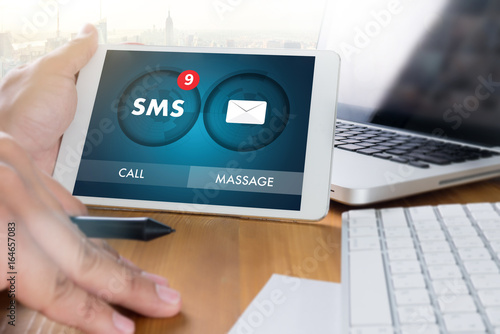 Cuadros en Lienzo SMS Messaging Communication Notification Alert Reminder sms