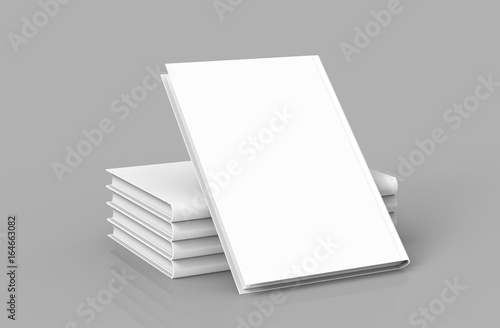 Vászonkép Hardcover books template