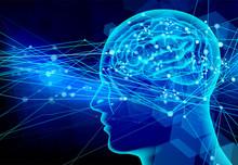 Blue Brain Human Background