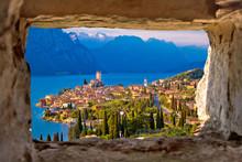 Malcesine And Lago Di Garda Ae...