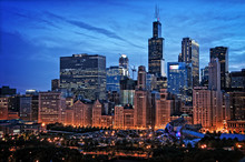 Chicago Lakefront Skyline City...