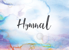 Hymnal Concept Watercolor And Ink Painting