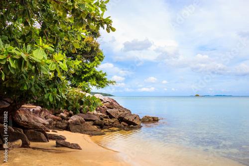 Photo  karimunjawa indonesia java beach coastline rocks