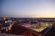 panoramic view City of Badajoz, Extremadura, Spain