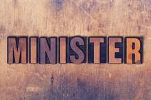 Minister Theme Letterpress Wor...