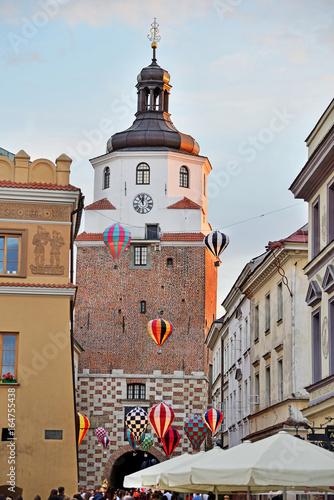 Fototapeta Cracow Gate in Lublin obraz