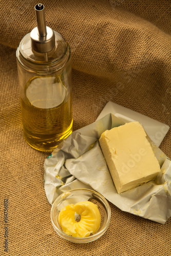 olive oil, and vegetal butter