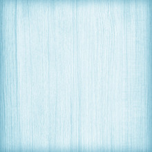 Light Blue Wood Plank Texture For Background.