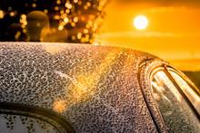Car Detailing Sunset Beading