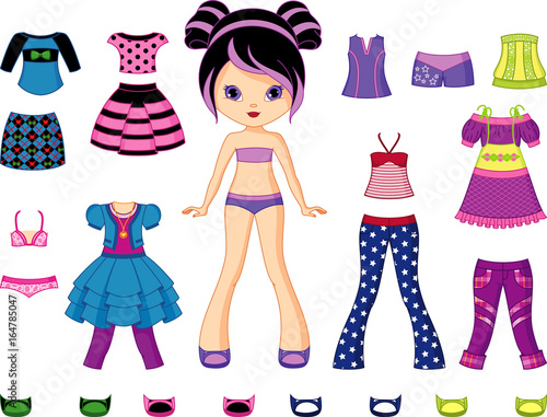 Photographie  Paper Doll