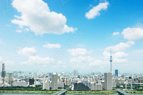 Fotobehang - 東京の風景