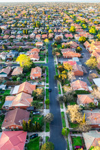 Residential Homes In A South Eastern Suburb Of Melbourne