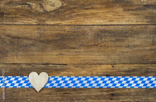 bayern hintergrund bayerisch holz herz raute blau wei traditionell kaufen sie dieses foto und. Black Bedroom Furniture Sets. Home Design Ideas