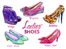 Modern Ladies Shoes Collection...