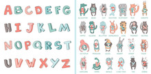 Hand-drawn Alphabet, Font, Let...