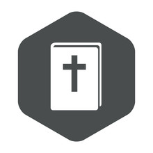 Icono Plano Biblia En Hexagono...