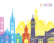 Limoges skyline pop