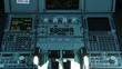 Plane cockpit controls