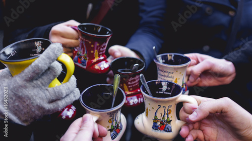 Photo Mulled Wine at the Christmas Market