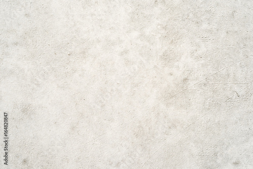 Fotomural Plastered concrete wall, white background